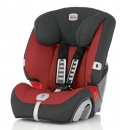 Детское автокресло Britax EVOLVA 1-2-3 plus, Trendline, цв. Chili Pepper
